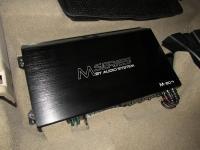 Установка усилителя Audio System M 80.4 в Nissan Qashqai (J11)