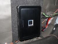Установка усилителя Alpine PDX-M12 в UAZ Patriot