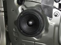 Установка акустики Morel Maximo 6 в Renault Logan 2
