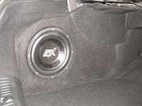 Установка сабвуфера ESX SX1040 в Mercedes E class (W213)