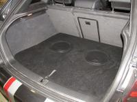 Установка сабвуфера ESX SX1040 в Audi A3 (8P)