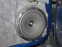Установка акустики BLAM 165 RX в Skoda Rapid
