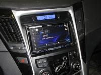 Фотография установки магнитолы Pioneer AVH-X5800BT в Hyundai Sonata