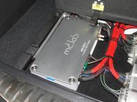Установка усилителя MDLab AM-MB1 в Infiniti QX80
