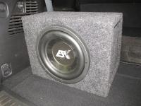 Установка сабвуфера ESX SX1040 в Infiniti QX80