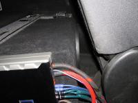 Установка сабвуфера ESX SX1040 в Mercedes GL (X164)