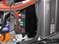Установка усилителя Alpine MRV-M500 в Lexus LX 450d