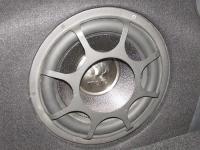 Установка сабвуфера Morel Primo 124 в Mitsubishi Outlander III