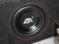 Установка сабвуфера ESX SX1040 в Volkswagen Tiguan