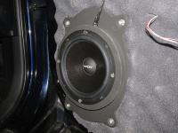 Установка акустики Eton POW 172.2 Compression в Toyota Avensis