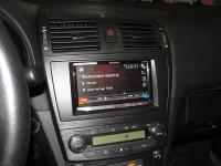 Фотография установки магнитолы Pioneer AVH-X8800BT в Toyota Avensis