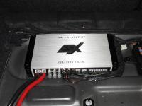 Установка усилителя ESX QE80.6DSP в BMW 1 (F20)