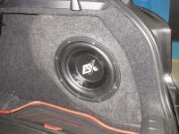 Установка сабвуфера ESX SX1040 в BMW 1 (F20)