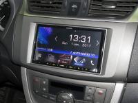 Фотография установки магнитолы Kenwood DMX7017BTS в Nissan Sentra