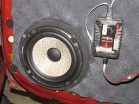 Установка акустики Focal Performance PS 165 F в Nissan Note