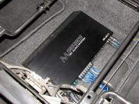 Установка усилителя Audio System M 80.4 в Nissan Note