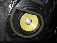 Установка акустики Focal K2 Power ES 165 K в Mercedes CL class (W216)