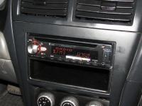Фотография установки магнитолы Pioneer DEH-X5900BT в Nissan Almera Classic