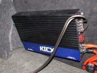 Установка усилителя Kicx AP 1000D в Nissan Almera Classic