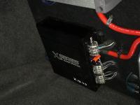 Установка усилителя Audio System X 75.4 D в Lada Priora 2