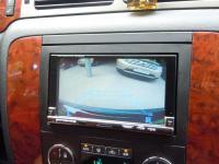 Фотография установки магнитолы Alpine IVA-W205R в Chevrolet Tahoe III