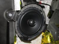 Установка акустики Morel Tempo Coax 6 в Citroen Jumpy Multispace