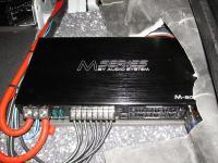 Установка усилителя Audio System M 80.4 в Volvo XC60