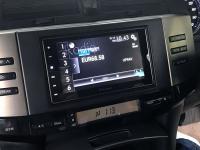 Фотография установки магнитолы Pioneer SPH-DA120 в Toyota Mark X