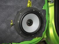 Установка акустики Morel Tempo Ultra Integra 602 в Lada Vesta