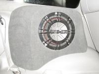 Установка сабвуфера Kicker 43CWR104 в Lexus LX 470