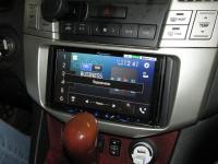 Фотография установки магнитолы Pioneer AVH-Z5000BT в Lexus RX II