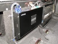 Установка усилителя Audio System M-90.4 в Opel Antara