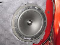 Установка акустики BLAM 165 RS в Mitsubishi Lancer X