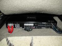 Установка усилителя Audio System R-110.4 в Toyota Fortuner