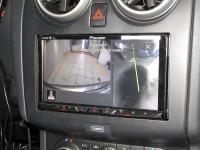 Фотография установки магнитолы Pioneer AVH-Z5000BT в Nissan Qashqai