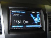 Фотография установки магнитолы Alpine IVA-W520R в Mitsubishi Outlander XL