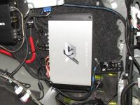Установка усилителя ESX QE80.6DSP в Toyota Land Cruiser 150