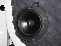 Установка акустики Eton POW 172.2 Compression в Peugeot Expert III