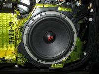 Установка акустики Dego PO 6.5 MW в Audi A6 (C6)