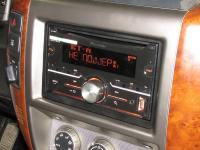 Фотография установки магнитолы Pioneer FH-X730BT в Nissan Patrol