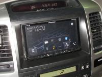 Фотография установки магнитолы Pioneer AVH-Z5000BT в Toyota Land Cruiser 120