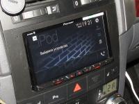 Фотография установки магнитолы Pioneer AVH-Z5000BT в Volkswagen Touareg