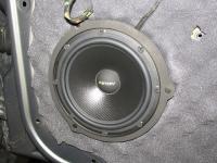 Установка акустики Eton POW 172.2 Compression в Mercedes GLK (X204)