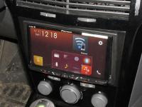 Фотография установки магнитолы Pioneer AVH-Z5000BT в Opel Astra H