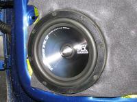 Установка акустики MTX TX265S в Volkswagen Polo V