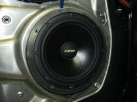 Установка акустики Eton POW 172.2 Compression в Mercedes E class (W212)