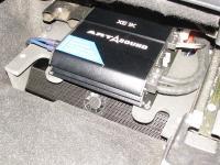 Установка усилителя Audio System M-90.4 в Mitsubishi Outlander XL