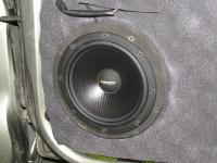 Установка акустики Eton POW 172.2 Compression в Nissan Almera