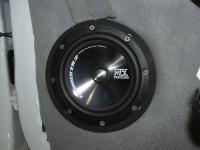 Установка акустики MTX TX265S в Renault Logan 2