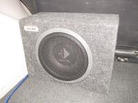 Установка сабвуфера Helix K 10W box в Mitsubishi Pajero Sport